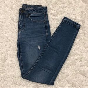 SO Distressed High Rise Jean Jegging Size 0